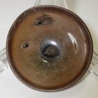 sale: TENMOKU Antique Chinese Jian Pottery Small Tea Bowl