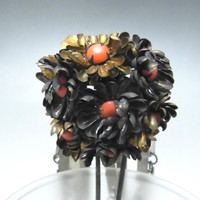 BIRA KANZASHI Antique Japanese Hair Pin in Meiji