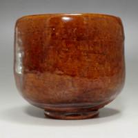 Modern Japanese Ohi pottery Tea Bowl