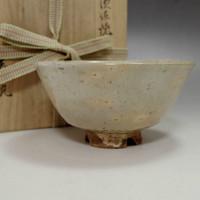 Modern Japanese Hagi Pottery Tea Bowl #1912