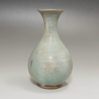 Antique Blue Chinese Jun Pottery Vase #2008