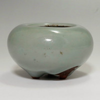 Antique Japanese celadon Incense burner