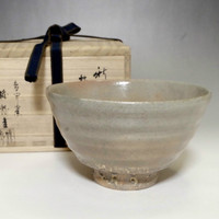 Ido Chawan - Morden Korean Pottery Tea Bowl w/box #2026