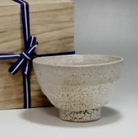 sale: IDO CHAWAN Vintage Korean Pottery Tea Bowl w Box