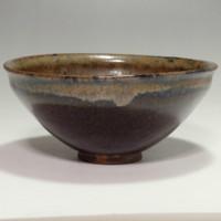 sale: Tenmoku - Antique Chinese Jian Yao Pottery Tea Bowl #2159