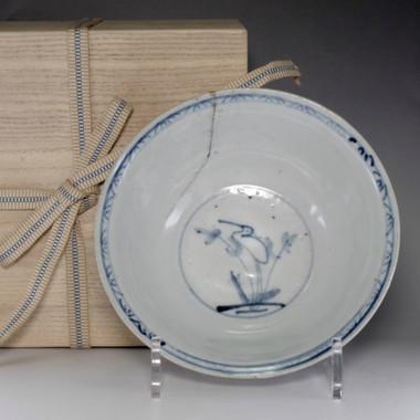 Antique Korean blue and White Porcelain Bowl in Joseon w/Box #2346 for sale & Antique Korean blue and White Porcelain Bowl in Joseon w/Box #2346 ...