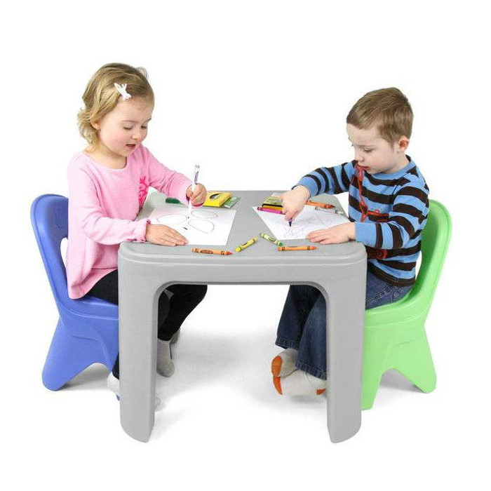 Simplay3 Play Around Table And Chair Set For Safe All Purpose Child Play  Activities From ...