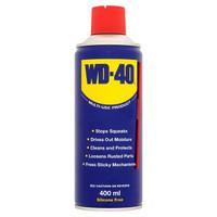 WD40 Multi-Purpose Lubricant Spray Can 400ml