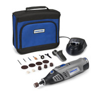Dremel 8100 Series Cordless Li-ion Multi-tool with Detailers Grip and 15 Accessories