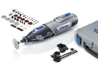 Dremel 8200-2/45 10.8V Cordless Rotary Multi Tool Kit c/w 2 Attachments & 45 Accessories