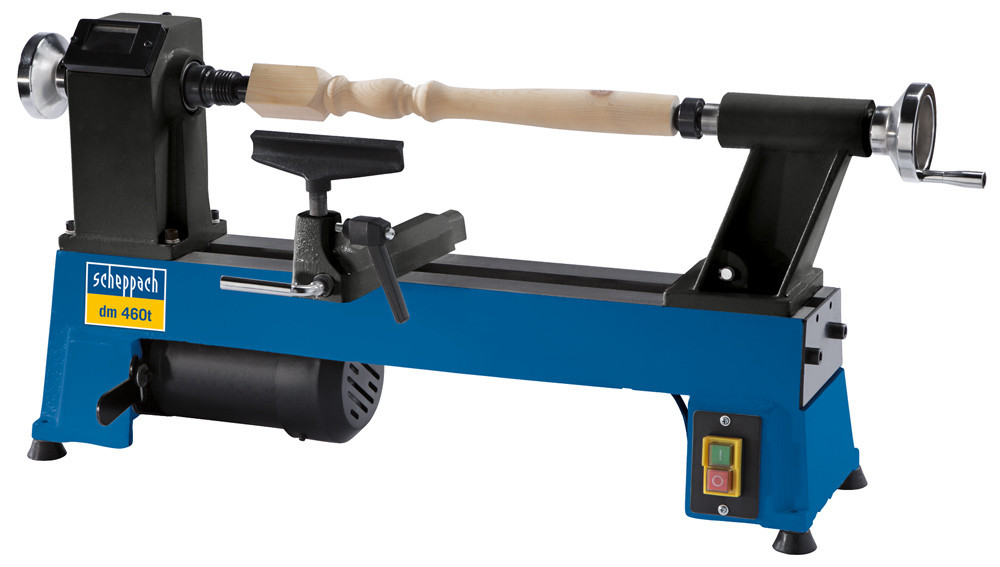 Scheppach Dm460t Variable Speed Lathe Mcquillan Tools