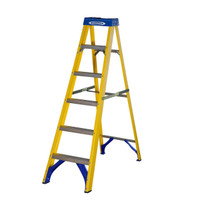 Werner 71605 Stepladder Fibreglass 5 Tread Trade