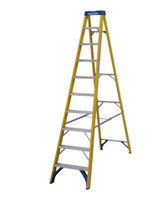 Werner 71610 Stepladder Fibreglass 10 Tread Trade