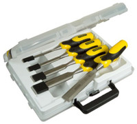 Stanley Dynagrip 5 Piece Chisel  Set With Strike Cap