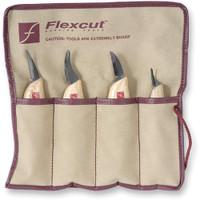 Flexcut 4 Piece Carving Knife Set