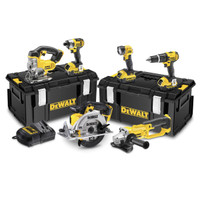 Dewalt DCK691M3 18V 6 Piece Kit (3 x 4ah Batteries)