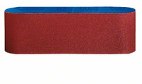 Bosch 75 x 533 mm 80 Grit Sanding Belts (3 Pack)