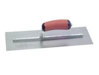 """Marshalltown MPB13SSD Pre Worn Stainless Steel Plasterers Trowel 13 x 5 """""""