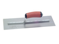 """Marshalltown MPB14SSD Pre Worn Stainless Steel Plasterers Trowel 14 x 5 """""""