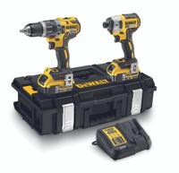 Dewalt DCK266P2 18V Brushless Combi Drill & Impact Driver Kit (2x5.0Ah)