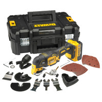 Dewalt DCS355M2 18v Cordless Multi Tool (2 x 4Ah Batteries)