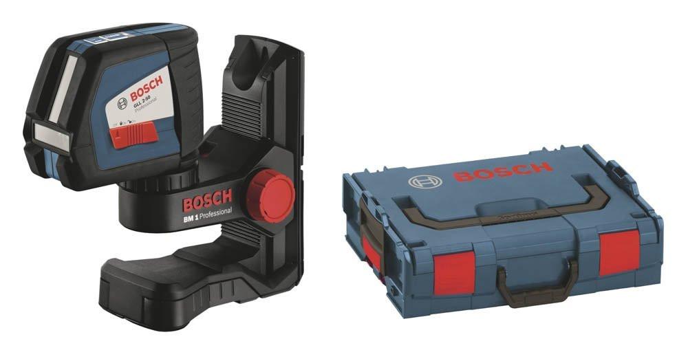 bosch gll 2 50 professional line laser kit. Black Bedroom Furniture Sets. Home Design Ideas