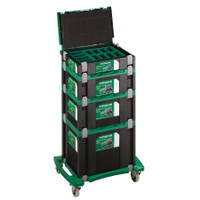 Hitachi HSC1234C Stackable Case System And Caster