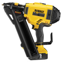 Dewalt DCN694P2 18V Brushless 1 Speed Metal Connector Nailer With 2 x 5Ah Batteries