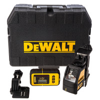 Dewalt DW088KD 2 Way Self-Levelling Cross Line Laser With DE0892 Detector