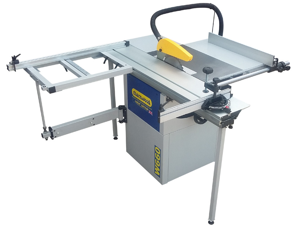 Charnwood W660 10 Quot Panel Saw With Sliding Beam