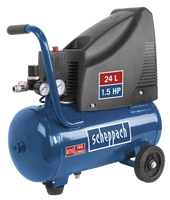 Scheppach HC25o 1.5HP 24Litre Compressor