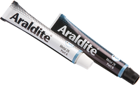 Araldite Steel Epoxy 2 x 15ml Tubes