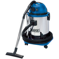 Draper 48499 50Litre 1400W Wet and Dry Vacuum