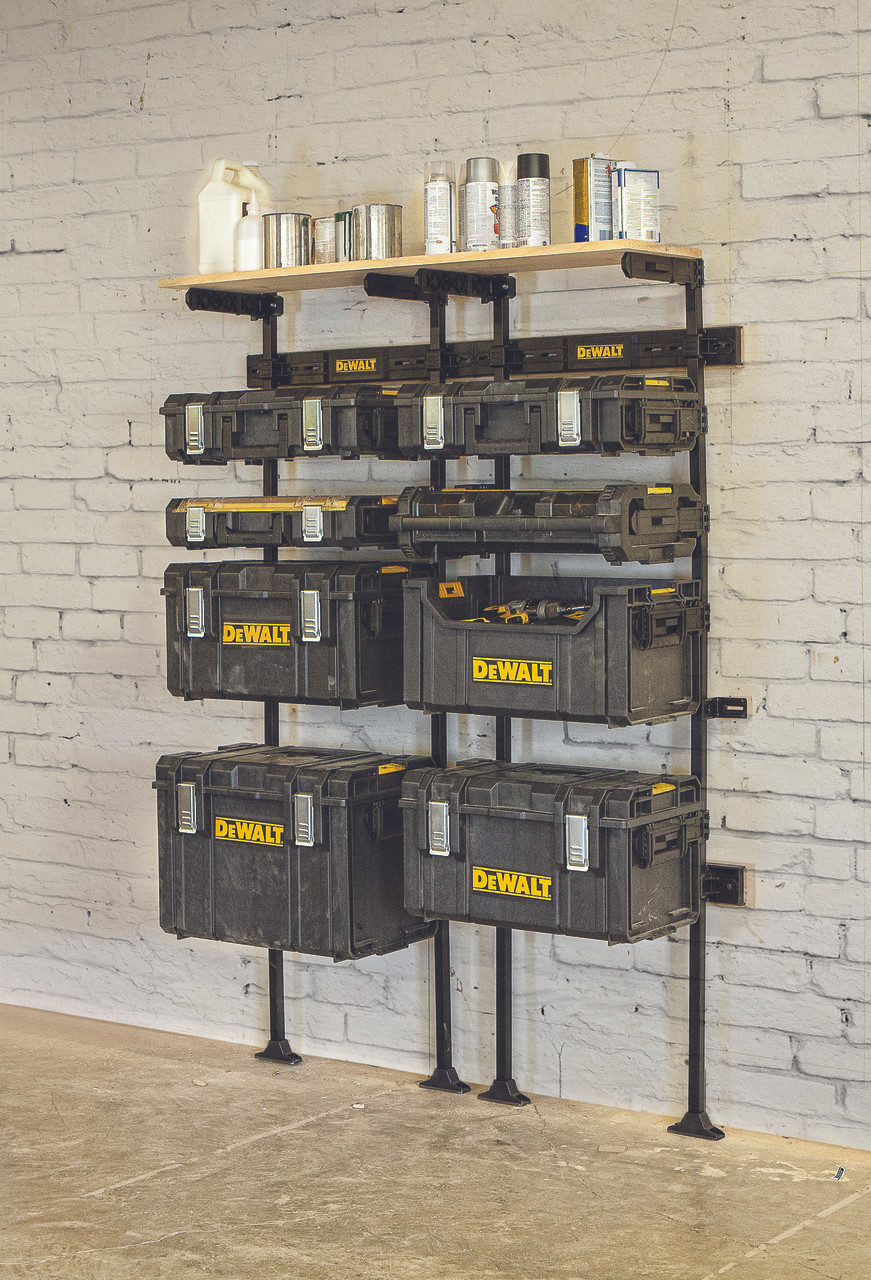 Dewalt Dwst1 75694 Toughsystem Workshop Racking Solution