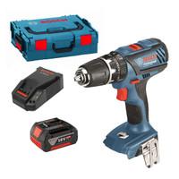 Bosch GSB 18-2Li Cordless Combi Drill in L-Boxx (1 x 5Ah)