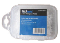Tala TA69530 2.5mm Tile Spacers Pk (250)
