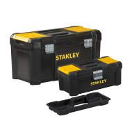 Stanley Essential 480mm(19in) Metal Latch Toolbox with Bonus 12.1/2in Toolbox