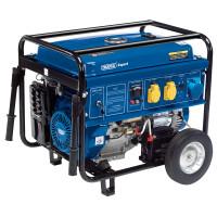 Draper Petrol Generator with Wheels (6.5KVA/11KW)