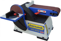 "Charnwood W408 6"" x 4"" Disc and Belt Sander (W408)"
