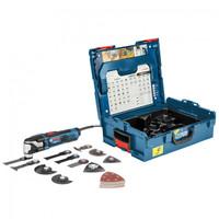 Bosch GOP 55-36 Starlock Multi Cutter With 25 Accessories in L-Boxx 550W