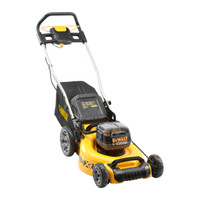 DeWalt DCMW564P2 18v 48cm Brushless Lawnmower (2x5.0Ah) (DCMW564P2)