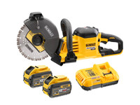 Dewalt DCS690X2 54V Li-ion 230mm FlexVolt Cut Off Saw