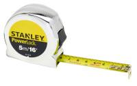 Stanley 5m(16ft) PowerLock Short Tape