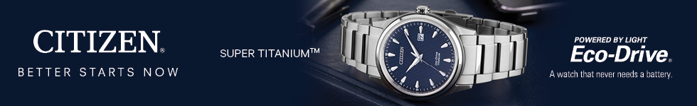 Citizen titanium watches by WatchO