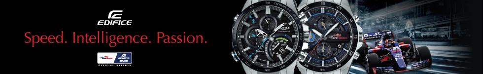 Casio Edifice from WatchO