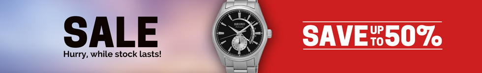 Seiko Watches On Sale