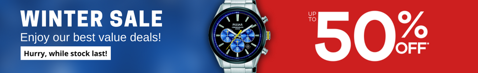 Pulsar Watches On Sale