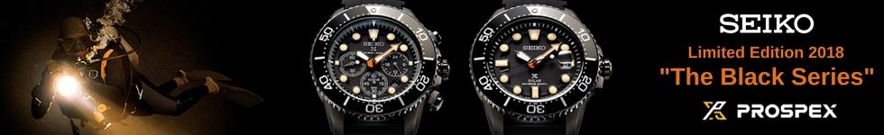 Seiko's latest watches