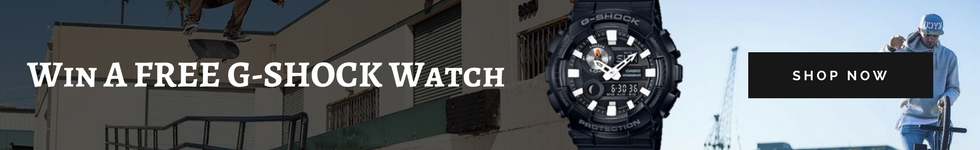 Win A Free G-SHOCK Watch