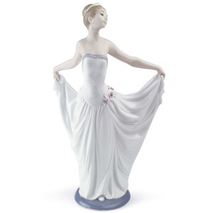 Lladro Porcelain Dancer Ballet Woman Figurine 01007189